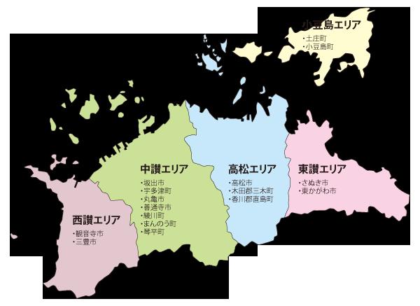 エリア検索マップ